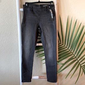 Express grey mid rise cropped jegging NWT